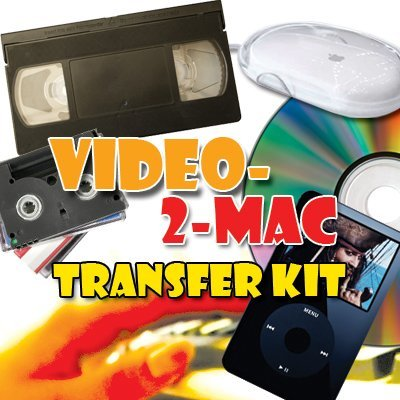 VHS & Camcorder Video Capture Kit. For Mac OSX. Works with El Capitan (10.11), Yosemite (10.10), Mavericks (10.9.5), Mountain Lion (10.8.5), Lion (10.7.5) & Snow Leopard (10.6.8). Includes USB capture hardware, leads & capture software. Links your existing VCR or Camcorder to your Apple Mac. Copy, Convert, Transfer VHS, S-VHS, VHS-C, Hi8, Digital8, Video8, Mini-DV & Betamax. For all iMac, Macbook Pro, Mini & Pro models. Includes video tutorial & digital download link for Macs without DVD drives.