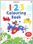 123 Colouring Book with Stickers (Usb...