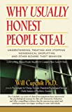 img - for WHY USUALLY HONEST PEOPLE STEAL: Understanding, Treating And Stopping Nonsensical Shoplifting And Other Bizarre Theft Behavior book / textbook / text book