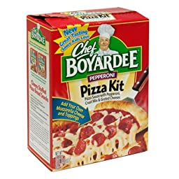 Chef Boyardee, Pepperoni Pizza Kit, 31.85oz Box (Pack of 4)