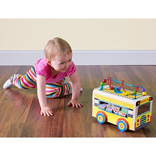 ALEX Toys ALEX Jr. Rolling Busy Bus