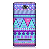 Head Case Designs Sugar-coated Aztec Candy Tribal Back Case for HTC Windows Phone 8S