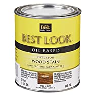 - W44N00803-44 Best Look Interior Wood Stain-WALNUT INT WOOD STAIN