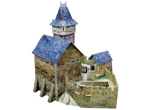 Clever Paper Hunting Castle with Figures (Castle Paper Model compare prices)