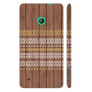Nokia Lumia 530 Running Arrows designer mobile hard shell case by Enthopia