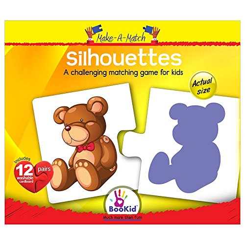 Make A Match Baby Puzzle Games - Silhouettes. For 2+ Years Old