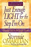 Just Enough Light for the Step I'm On--A Devotional Prayer Journey (Trusting God in the Tough Times)