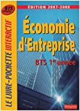 echange, troc Bernard Epailly, Monique Boulet, Patrick Enreille, Yolande Morlans, Collectif - Economie d'entreprise BTS tertiaires 1e année