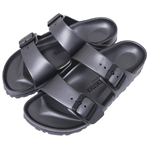 (ビルケンシュトック) BIRKENSTOCK『EVA ARIZONA』(METALLIC ANTHRACITE) (レディース/メンズ) (39/ 25cm?25.5cm, METALLIC ANTHRACITE)