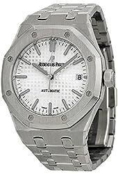 Audemars Piguet Royal Oak Automatic Silver Dial Stainless Steel Unisex Watch 15450ST.OO.1256ST.01