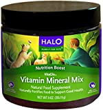Halo Vita Glo Vita-Mineral Mix Natural Supplement for Dogs and Cats, 9.5oz