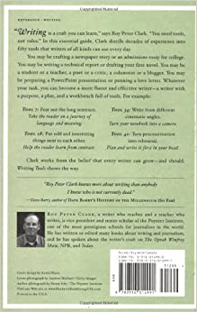 writing tools 50 essential strategies for every writer A special 10th anniversary edition of roy peter clark's bestselling guide to writing, featuring five bonus toolsten years ago, roy peter clark, america's most.