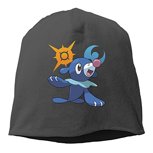 Unisex Sun And Moon Popplio Water Cool Skull Cap Slouch Beanie Hat Black (Corky Devil compare prices)