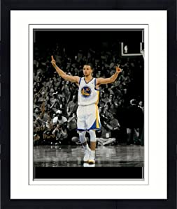 Framed Stephen Curry Golden State Warriors Autographed 11