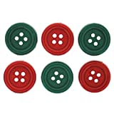 Jesse James (1-Pack) Dress It Up Buttons Christmas Collection #6976 Sew Simple Christmas 6976-1P