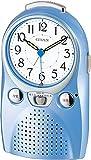 CITIZEN ( シチズン ) 目覚まし 時計 伝言くん ルージュW 録音 機能 付き 4SE521-004