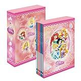 ナカバヤシ ディズニー 5冊BOXポケットアルバム L判270枚収納 ディズニープリンセス ア-PL-270-14