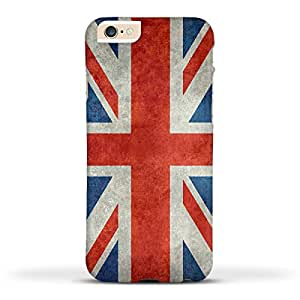 FUNKYLICIOUS iPhone 6s Back Cover Union Jack flag Retro Style Design (Multicolour)