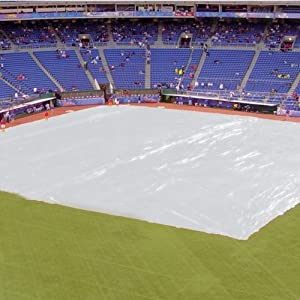 Baseball Field Cover w Sand Bags by Athletic Connection