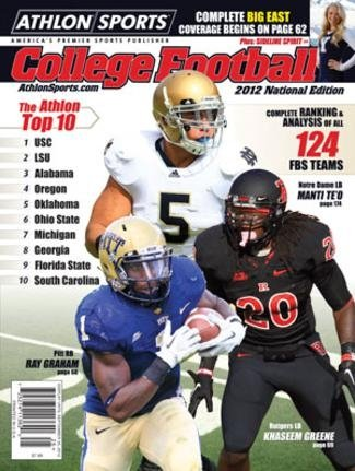 Athlon Sports 2012 College Football National Preview Magazine- Pittsburgh Panthers/Notre Dame Fighti at Amazon.com