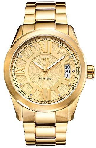 JBW Reloj Bond Dorado Única