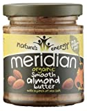 Meridian Almond Butter Smooth Organic (6 X 170G)