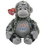 Ty Beanie Babies 2.0 Pops  Father's Day Gorilla