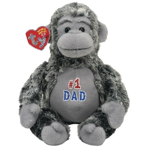 Ty Beanie Babies 2.0 Pops  Father's Day Gorilla - 1