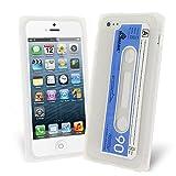 Celicious Clear Retro Cassette Tape Silicone Skin Case for Apple iPhone 5s / iPhone 5 Apple iPhone 5s Case Cover