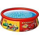 Cars - Easy Set, piscina hinchable, 183 x 51 cm (Intex 57001)