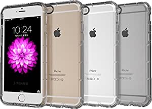 iPhone 6 Plus or 6s Plus case called the Excite Plus mCase. Slim case protects phone, clear to show phone's color.