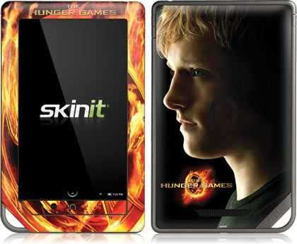 Skinit The Hunger Games -Peeta Mellark Vinyl Skin for Nook Color / Nook Tablet by Barnes and Noble