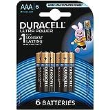 Duracell Pile Alcaline Ultra Power AAA 6 Piles