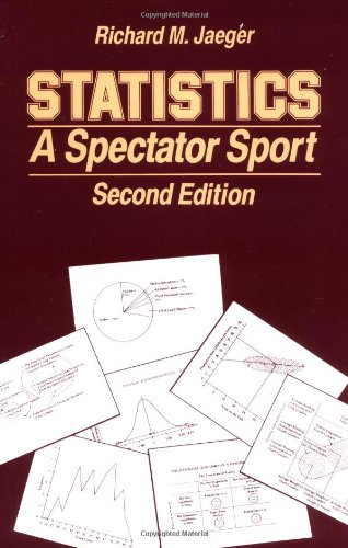 Statistics: A Spectator Sport (Written Communication Annual)