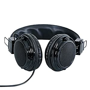 Headphone For Lava 3G 402 Headphone Compatible (Black)