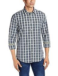 Arrow Sports Men's Casual Shirt (8907259814490_ASRS3129_46_Multicolor)