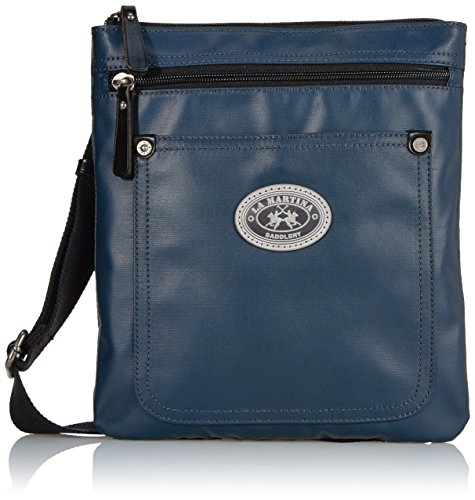 La Martina Crossbody Medio, Blu Navy