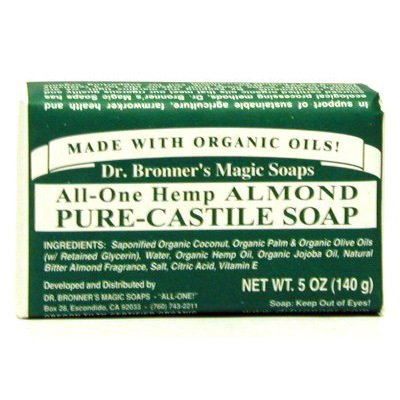 Bar Soap Organic-Almond 5 Ounces