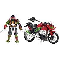 Teenage Mutant Ninja Turtles Movie 2 Raphael With Motorcycle Vehicle
