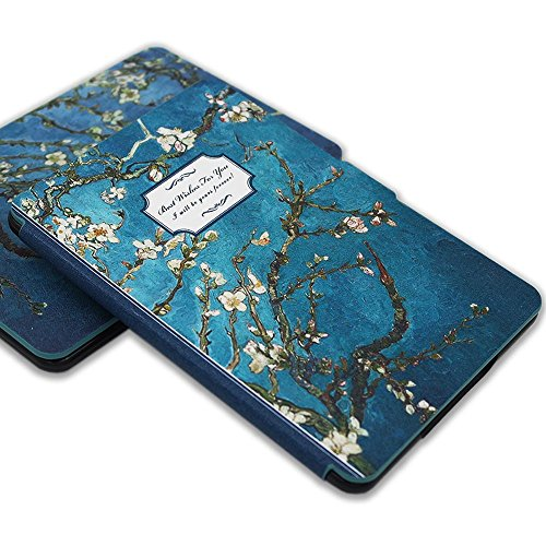 Kindle Paperwhite Book Cover Art : Kandouren kindle paperwhite case van gogh apricot