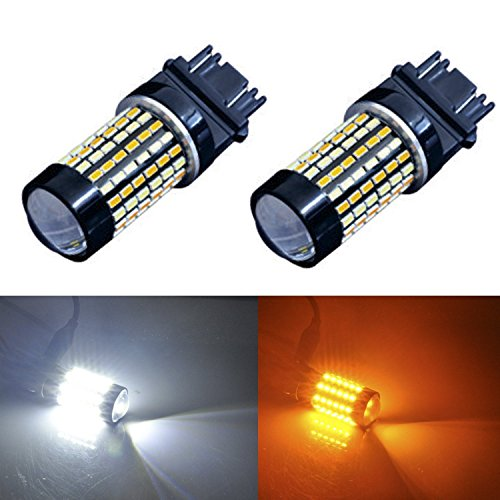 JDM ASTAR Extremely Bright 120-EX Chipsets White/Yellow 3157 3155 3457 4157 Switchback LED Bulbs with Projector For Turn Signal Lights (2010 Hhr Running Boards compare prices)