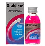 Oraldene® Medicated Mouthwash Mouth Wash for Mouth Ulcers Sore Gum Throat Infection 200ml