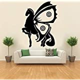 Hoopoe Decor Horse And Butterfly Wall Stickers And Decals
