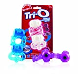 The Screaming O Tri-O Triple Pleasure Vibrating Ring