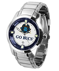 East Tennessee State Bucs Mens Stainless Steel Outdoor Watch by SunTime