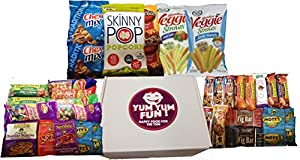 Yum Yum Fun Assortment Snack Care Package - 35 Count