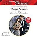 Claimed for Makarov's Baby: Christmas at the Castello (       UNABRIDGED) by Sharon Kendrick, Amanda Cinelli Narrated by Justine Eyre, Saskia Maarleveld