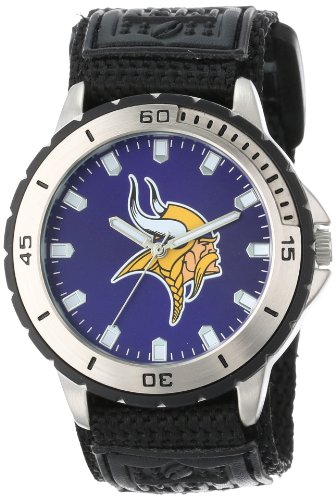"Game Time Men'S Nfl-Vet-Min ""Veteran"" Watch - Minnesota Vikings front-597088"