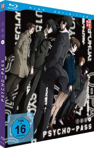 Psycho-Pass, Blu-ray