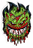 Spitfire Wheels - Psycho Zombie Skateboard Sticker - Monster Horror Scary New